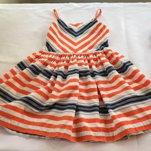 Gymboree Girls Striped Dress